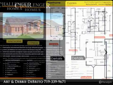 Challenger Patio Homes In Forest Meadows Colorado Springs
