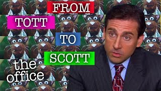 Michael Scott: From TOTT to SCOTT - The Office US
