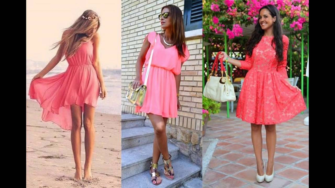 Zapatos para vestido de fiesta coral