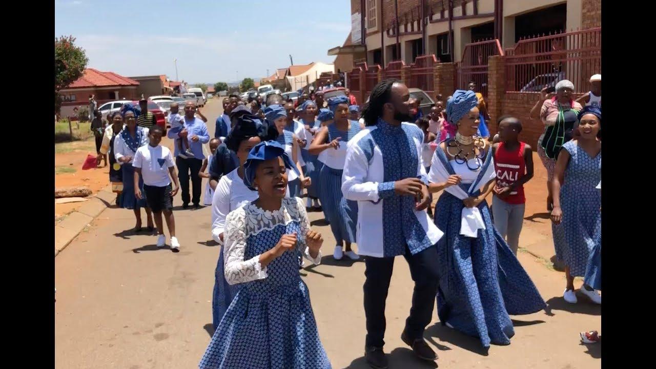 Joshua Olga Meshoe S Tswana Wedding Celebration In South Africa