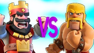 - CLASH ROYALE VS CLASH OF CLANS СУПЕР РЭП БИТВА Клеш Рояль ПРОТИВ Клеш Оф Кленс
