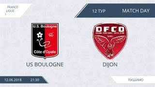 Afl18. france. ligue 1. day 12. boulogne - dijon