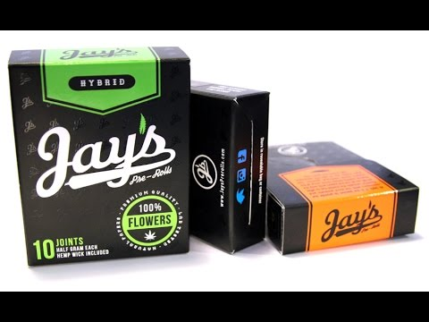 Marijuana Cigarettes - Jay's Pre Rolls at the SoCal Cannabis Cup 2015 - Smokers Guide California