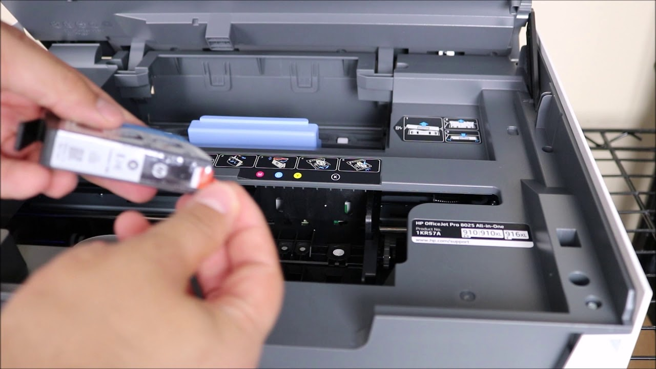 How To Install Ink on Hp Officejet Pro 8025