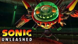 Sonic Unleashed Wii - BOSS - Egg Dragoon - 4K 60 FPS