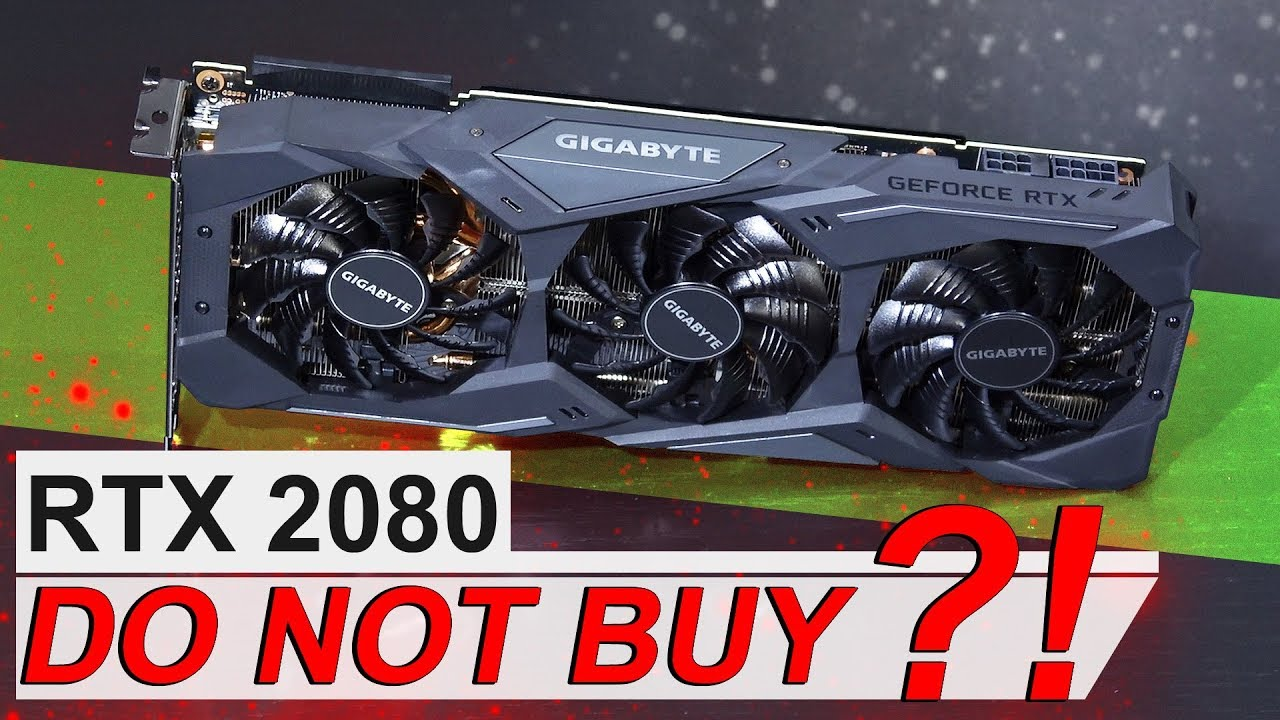 EPIC FAIL by NVIDIA?! -- GIGABYTE RTX 2080 WINDFORCE OC 8G