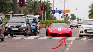 Supercar vs Speedbreakers | Mumbai | Supercars in India | 2017