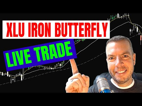 Entering a live Iron Butterfly Trade in XLU