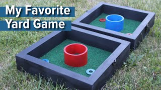 How to Build My Favorite Yard Game - Washers