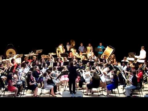 Stephen Collins Foster 2015 Van Pearson Middle School Band