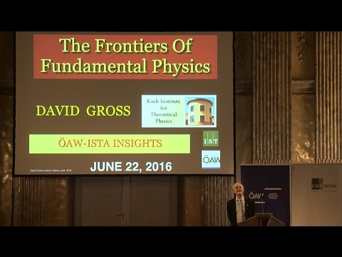 ÖAW–IST Austria Lecture: David Gross