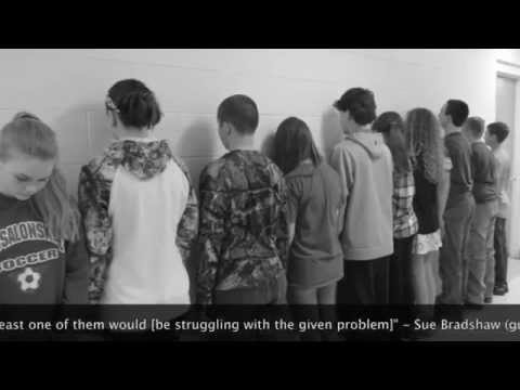 Samantha Smith Challenge 2015: Messalonskee Middle School -- Self Abuse