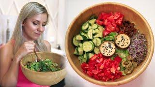 Pyszny i Kremowy sos do sałatki - przepis *vegan*