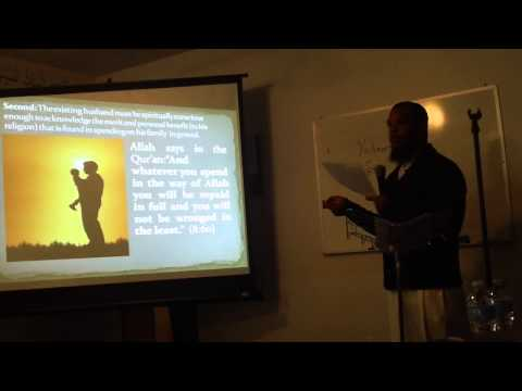 Shadeed Muhammad on Blended Families/Step Parenting Part 1
