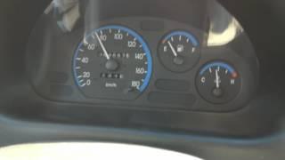 Daewoo Matiz acceleration