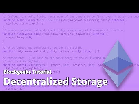 Decentralized Storage Explained