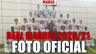 Así se hizo la foto oficial del Real Madrid 2020/21