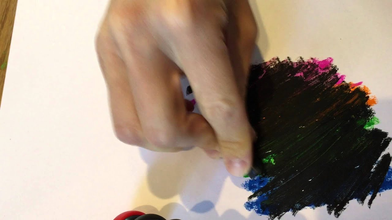 how to make scratch art