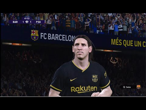 Barcelona Vs PSG ll eFootball PES 2021 SEASON UPDATE 2021 |