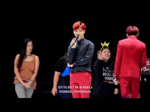 151114 GOT7 FM in Manila   PEDOMETER GAME   JB + YOUNGJAE FOCUS #GOT7inPH2015