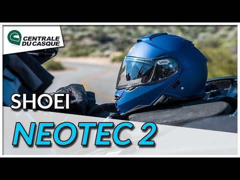 Casque Modulable Shoei Neotec 2 Centrale Du Casquecom Youtube
