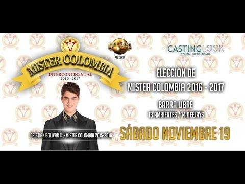 Mister Colombia Intercontinental 2016 Aftermovie