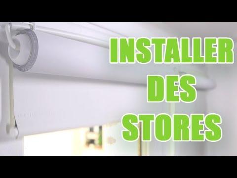poser des stores interieurs roulants sur les battants de fenetres diy by youmakefashion
