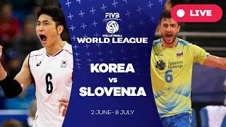 Korea v Slovenia - Group 2: 2017 FIVB Volleyball World League