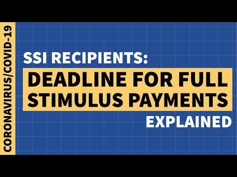 ssi-recipients:-deadline-to-request-full-stimulus-payment