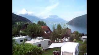 Schweiz  Vierwaldstättersee Vitznau www.camping-vitznau.ch  Sa.04.08.2012