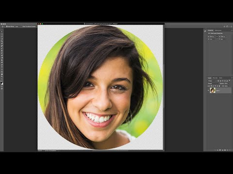 How to Crop Images in a Circle Shape in Photoshop