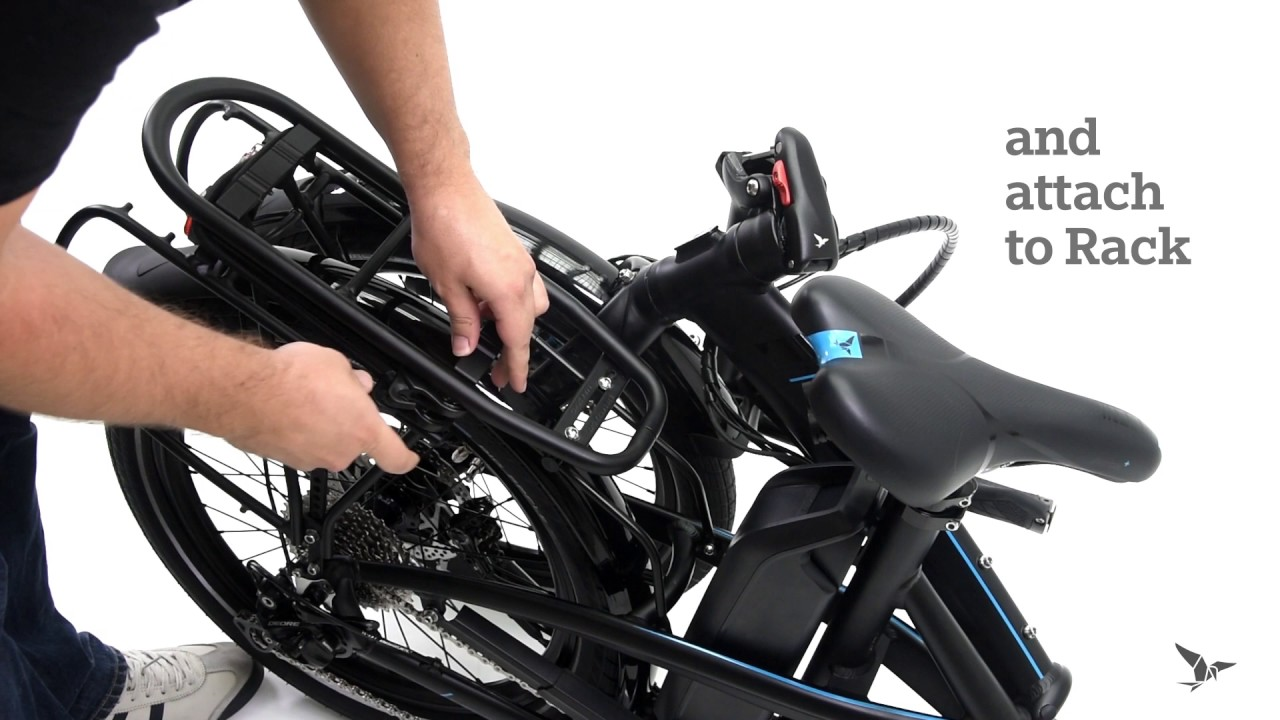 How To Unfold The Vektron Electric Folding Bike After