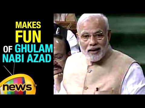 PM Modi Counter Attack On Congress | Makes Fun Of Ghulam Nabi Azad | Rajya Sabha | Mango News
