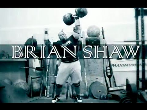 CIRCUS DUMBBELL TRAINING WITH WSM BRIAN SHAW - DUMBBELL TECHNIQUE