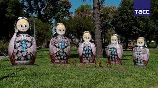 Русские в Уругвае  матрешки, балалайки и сарафаны