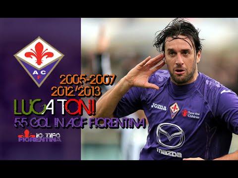 ㉚ Luca  Toni ● 55 Gol in ACF Fiorentina