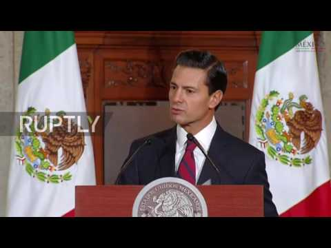 Mexico: Our dignity will never be compromised – Nieto on relations with USA
