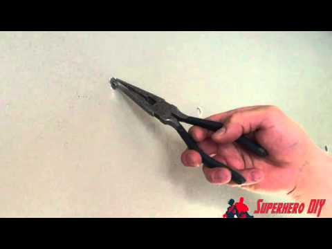 How to Remove ELFA Drywall Anchors