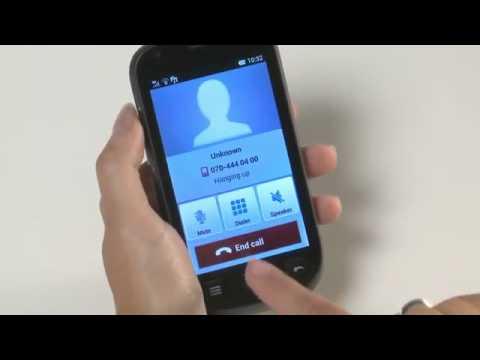 Doro Liberto® 810 Tutorial: Receive a call