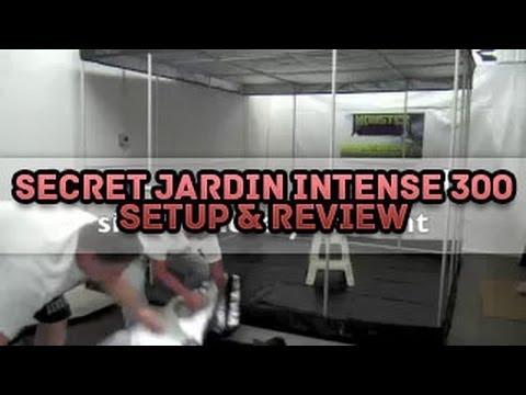 Secret Jardin Intense 300 Setup u0026 Product Review | How To Setup Grow Tent SilverBox Silver Box - YouTube & Secret Jardin Intense 300 Setup u0026 Product Review | How To Setup ...