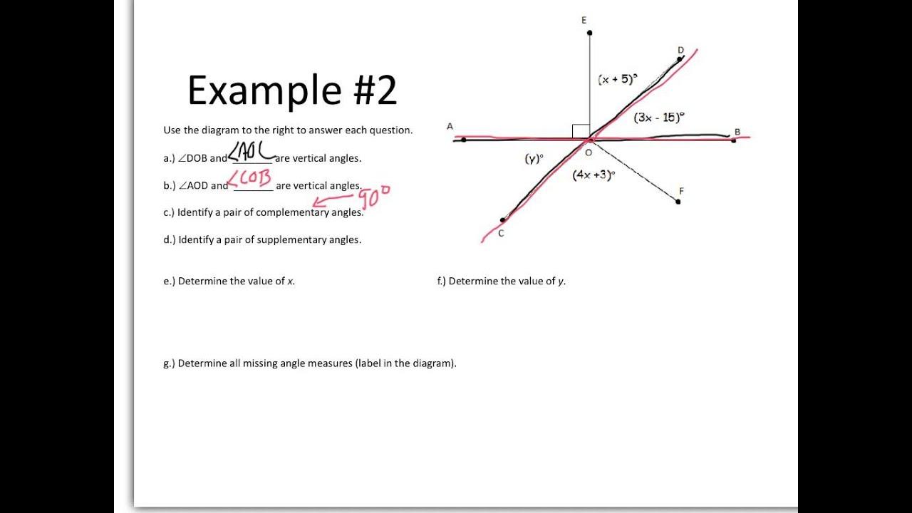 Angle relationship with algebra youtube angle relationship with algebra ccuart Choice Image