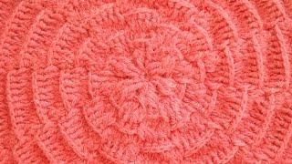 Узор Паутинка - Crochet pattern web - рельефные узоры