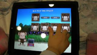 iPad 幼教軟體~Monkey Preschool LunchBox