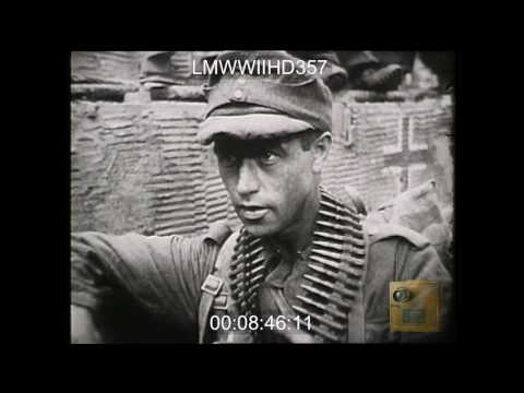 BREAKOUT FROM NORMANDY; THIS FILM DOCUMENTS THE RAPID ADVANCE INLAND THAT FOLLOWED THE - LMWWIIHD357