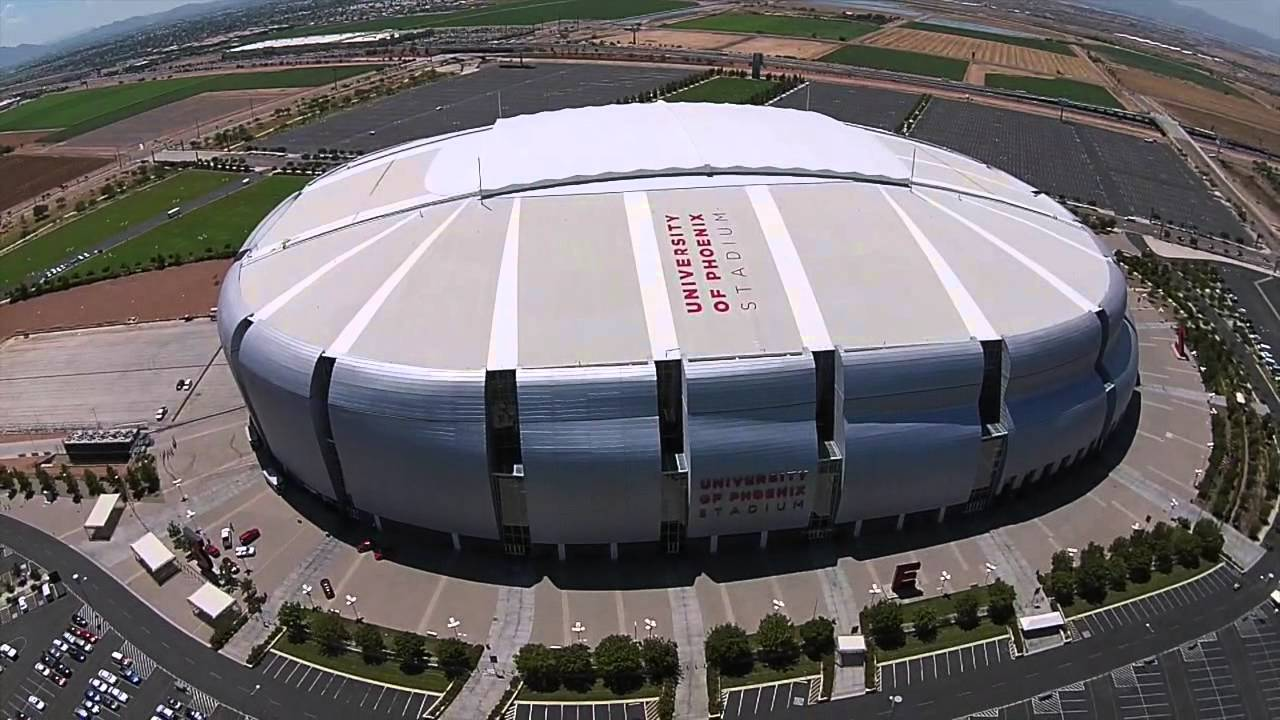 Drone Over University Of Phoenix Stadium - Youtube-4413