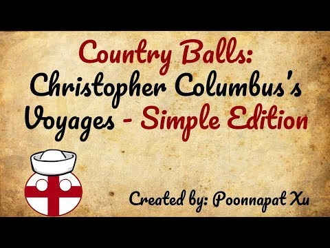 Country Balls: Christopher Columbus's Voyages