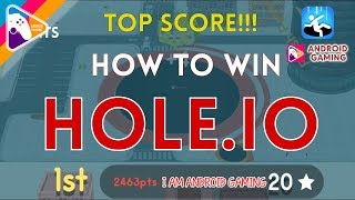 How To Win EVERY TIME! - Hole.io | Voodoo | Gameplay Walkthrough