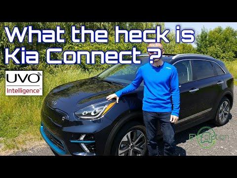 2019 Kia Niro EV And UVO Intelligence