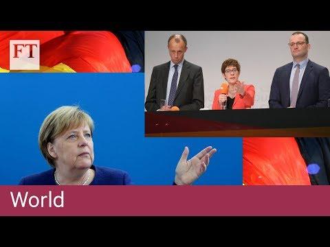 Why Germany's CDU battle to succeed Angela Merkel matters to Europe