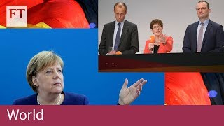 Why Germany's CDU battle to succeed Angela Merkel matters to Europe